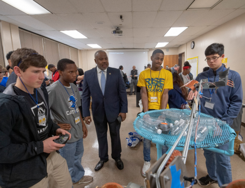 Montgomery's TechMGM Provides Hands-On STEM Experience to Students & Announces BEST Robotics Competition at CampIT