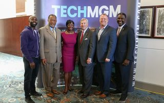 Montgomery Chamber Representatives at Press Conference