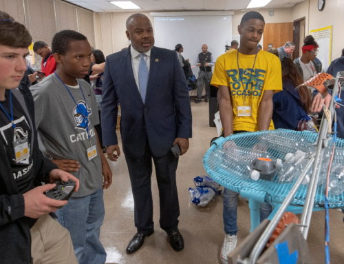 Montgomery's TechMGM hosts CampIT and Announces National BEST Robotics Competition